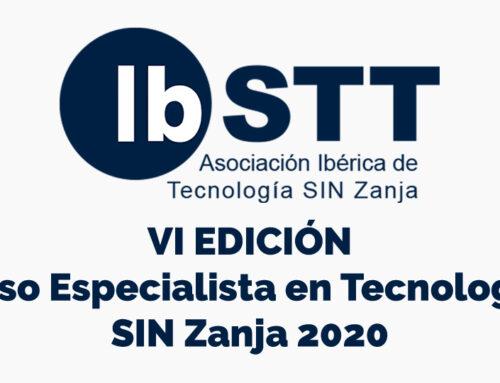 IbSTT lanza en online la VI edición Curso Especialista en Tecnologías SIN Zanja 2020