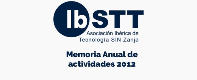 memoria anual de actividades ibstt