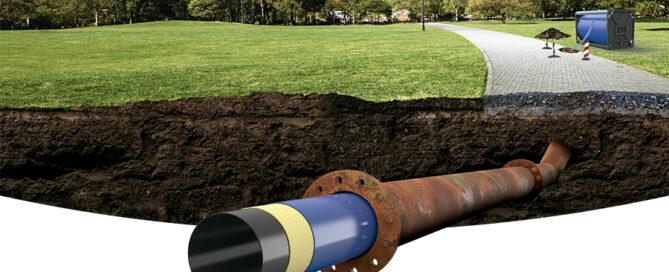 Rehabilitación en conducciones de impulsión de aguas residuales