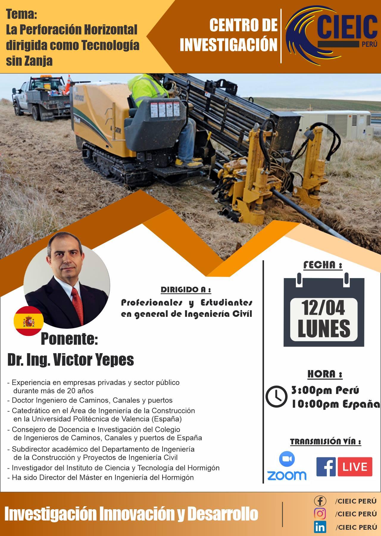 Conferencia Internacional CIEIC PerúIC PERÚ