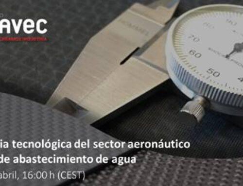 Transferencia tecnológica del sector aeronáutico a las redes de abastecimiento de agua