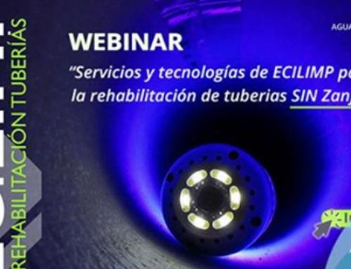 Webinar ECILIMP: Rehabilitación de tuberías SIN Zanja