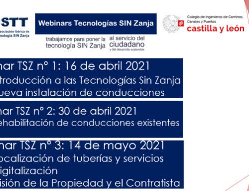 """IBSTT LANZA LA PRIMERA SERIE DE WEBINARS TSZ """"TECNOLOGÍAS SIN ZANJA"""""""